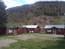 Our cabins are nestled at the base of Neoga Mountain