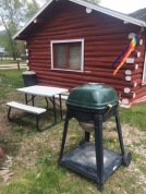 Picnic tables and grills available!